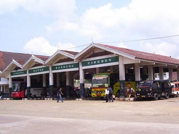 Terminal Ciakar tampak depan