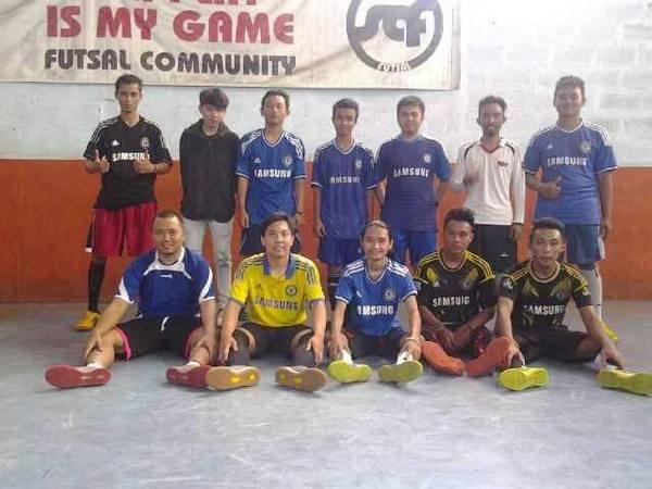 Sebagian tim futsal CISC Sumedang (foto: facebook CISC Sumedang)