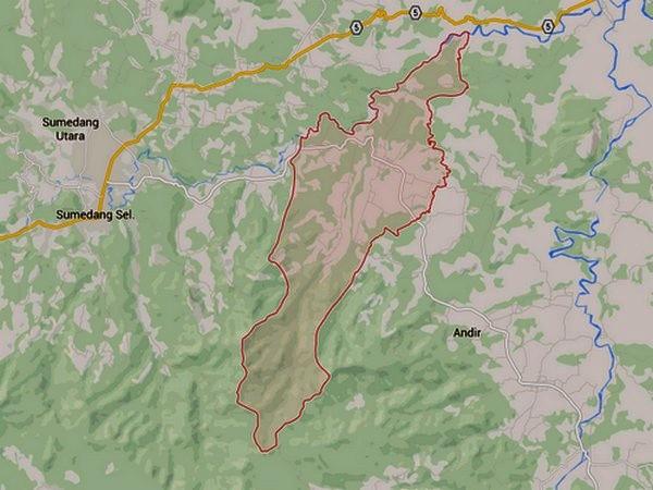 Wilayah Kecamatan Situraja di Google Maps