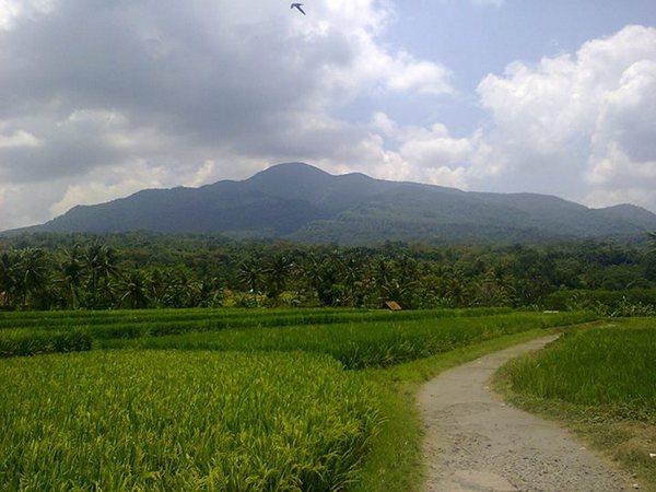Salah satu pemandangan di wilayah Desa Conggeang Kulon (foto oleh Chenk Dhedenz Al Mustofa)