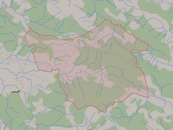 Peta wilayah Desa Cisampih (gambar: Google Maps)