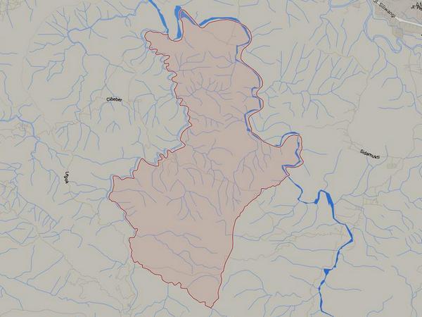 Wilayah Desa Lebaksiuh (gambar: Google Maps)