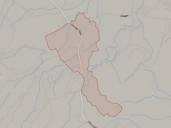 Wilayah Desa Situmekar (gambar: Google Maps)
