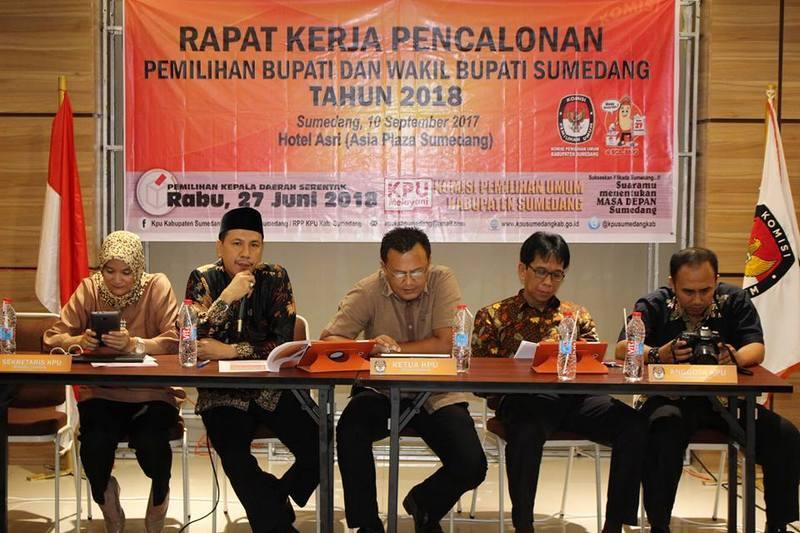 Rapat Kerja Pencalonan Pemilukada Sumedang 2018