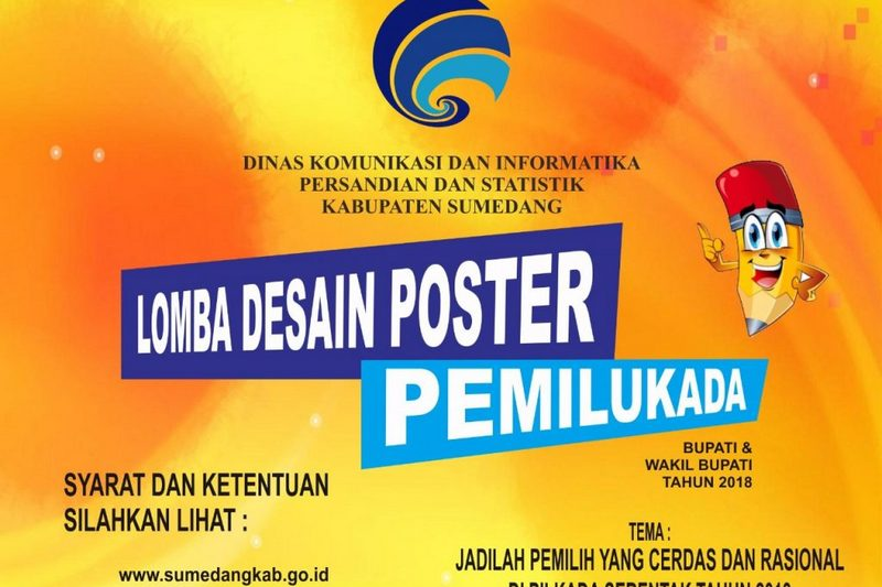Lomba Poster Pemilukada Sumedang 2018