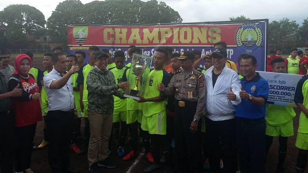 KRLSP 2017 Berakhir, SMP Negeri 1 Situraja Jadi Jawara