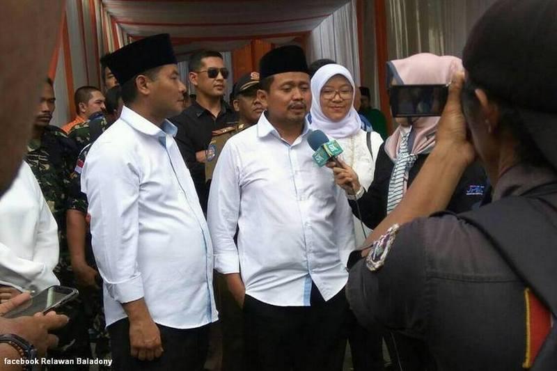 Pasangan Dony Ahmad Munir dan Erwan Setiawan Resmi Dideklarasikan