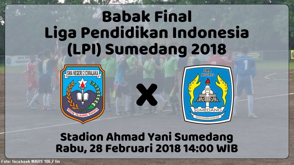 Final LPI Sumedang 2018, Ulangan Final LPI 2017