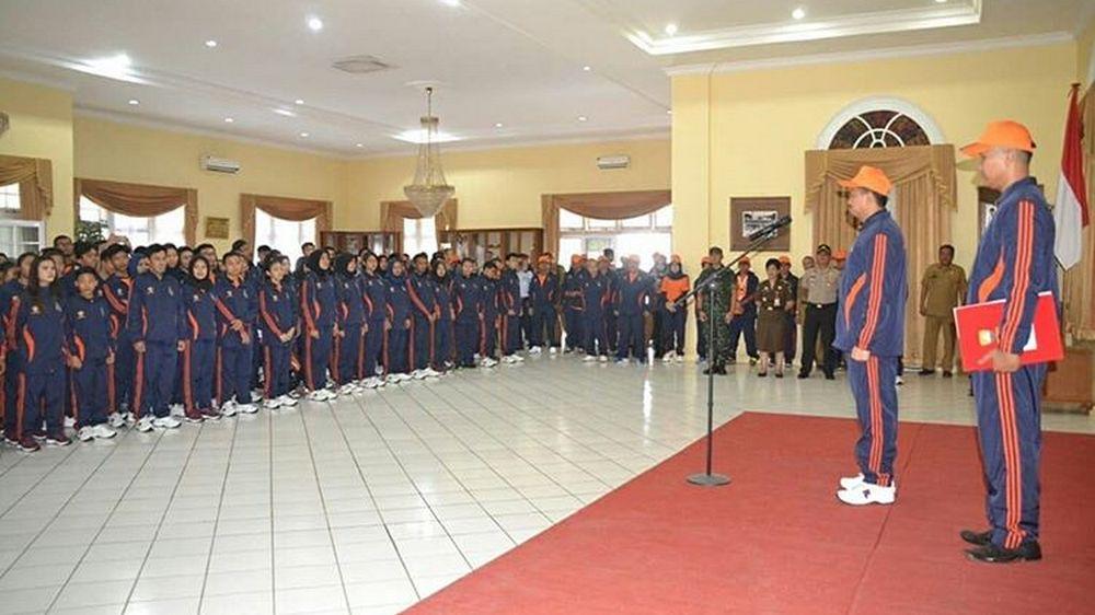 Bupati Lepas Kontingen Sumedang di Porda 2018