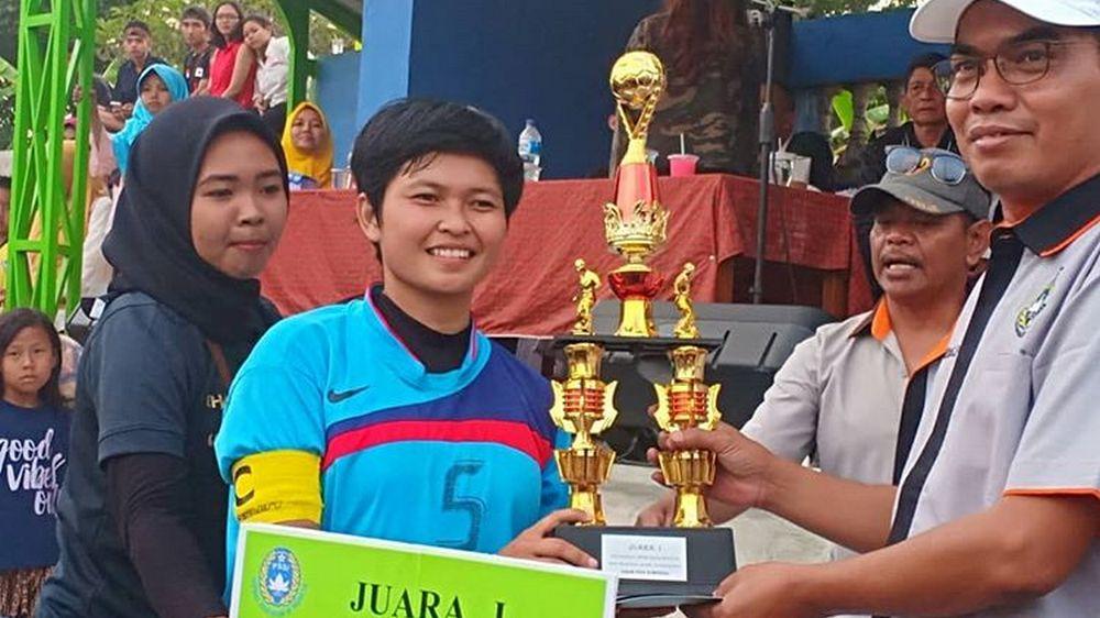 Paseh Juarai Sepak Bola Wanita Antar-Kecamatan 2018