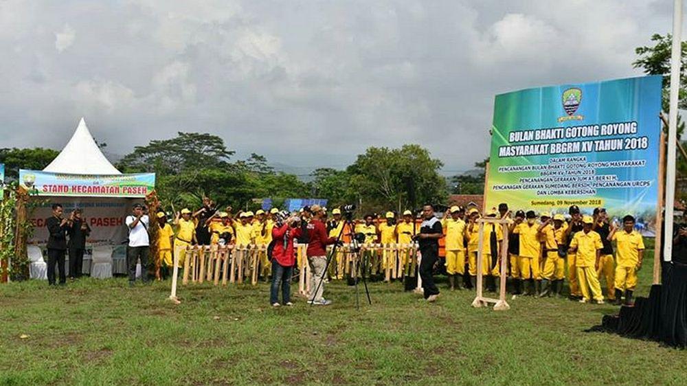 100 Hari Kerja: Sumedang Bersih Menuju Kota Buludru