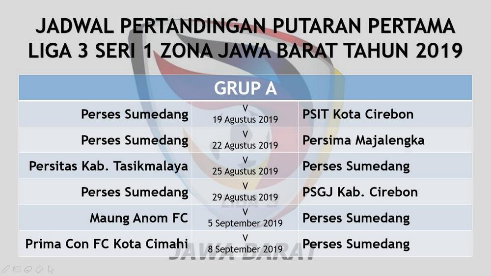 Jadwal Pertandingan Perses Sumedang