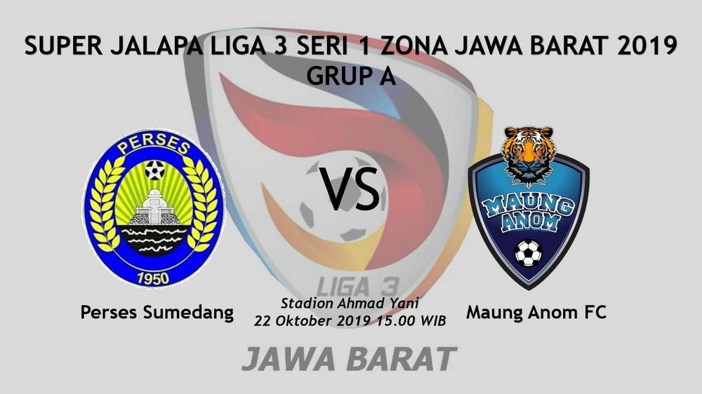 Diundur, Tanding Terakhir Liga 3 Seri 1 2019 Jawa Barat