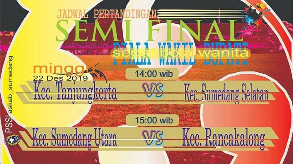 Di Semifinal, Tanjungkerta Jumpa Sumsel, Rancakalong vs Sumut
