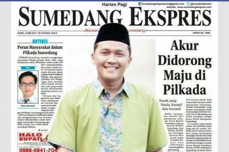 Asep Kurnia Mundur dari Jabatan Komisioner KPU Sumedang