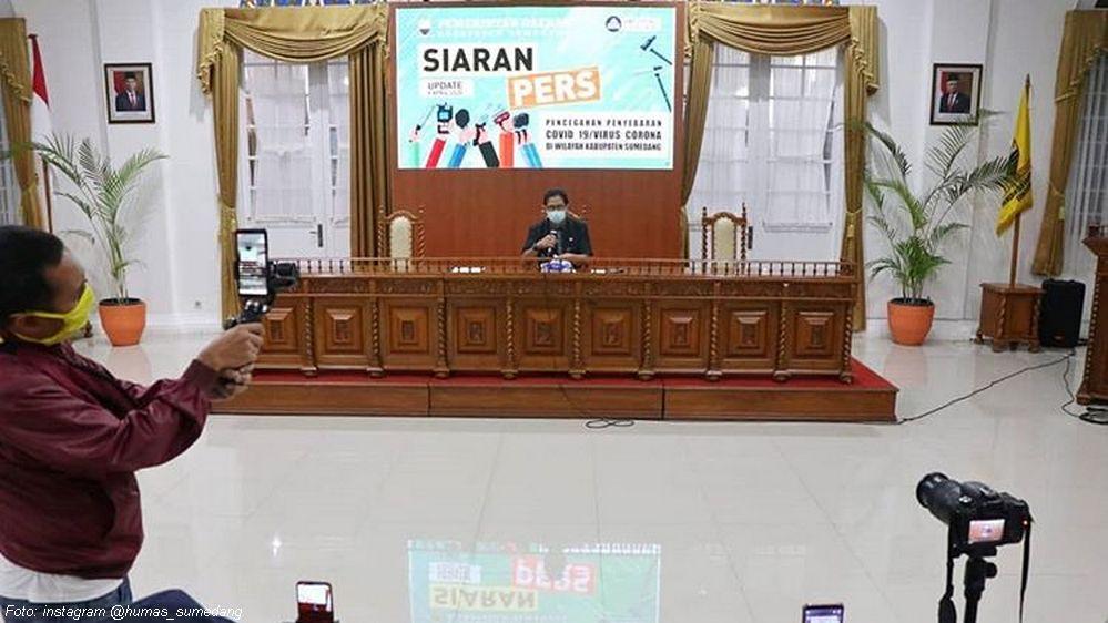 Update Covid-19 Sumedang, 9 April 2020