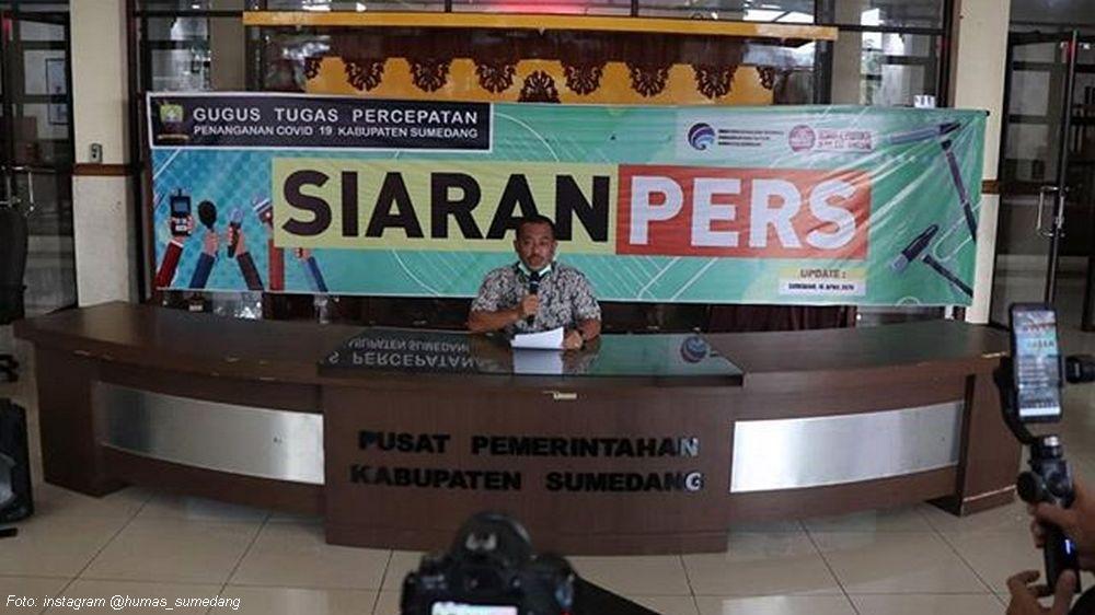Update Covid-19 Sumedang, 16 April 2020