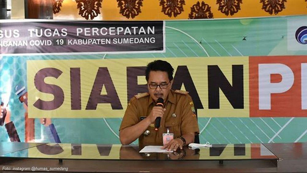 Update Covid-19 Sumedang, 21 April 2020