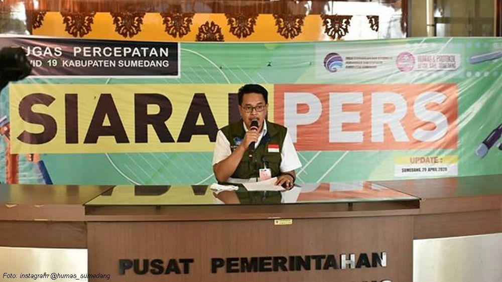 Update Covid-19 Sumedang, 29 April 2020