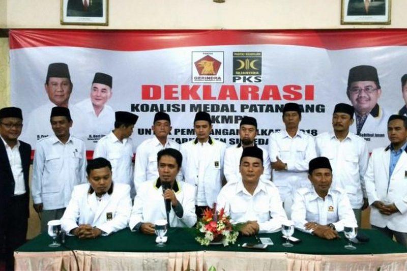 PKS-Gerindra Membangun Koalisi Medal Tatandang (KMP)