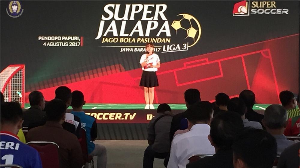 Super Jalapa Liga 3 2017 Zona Jawa Barat Resmi Diluncurkan