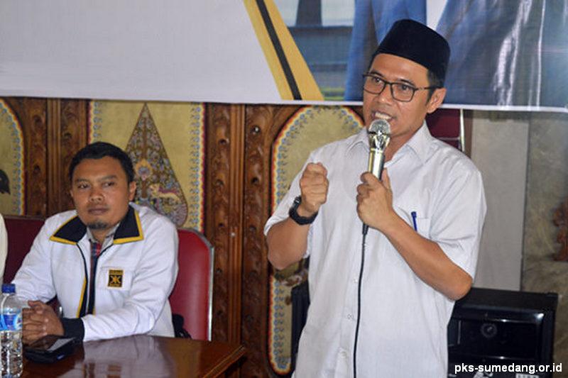 PKS Sumedang Siap Berkompetisi dengan Koalisis PDI Perjuangan dan Golkar