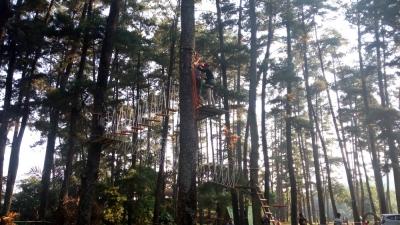 Mengenal Wahana Outbound di Tampomas Green Park